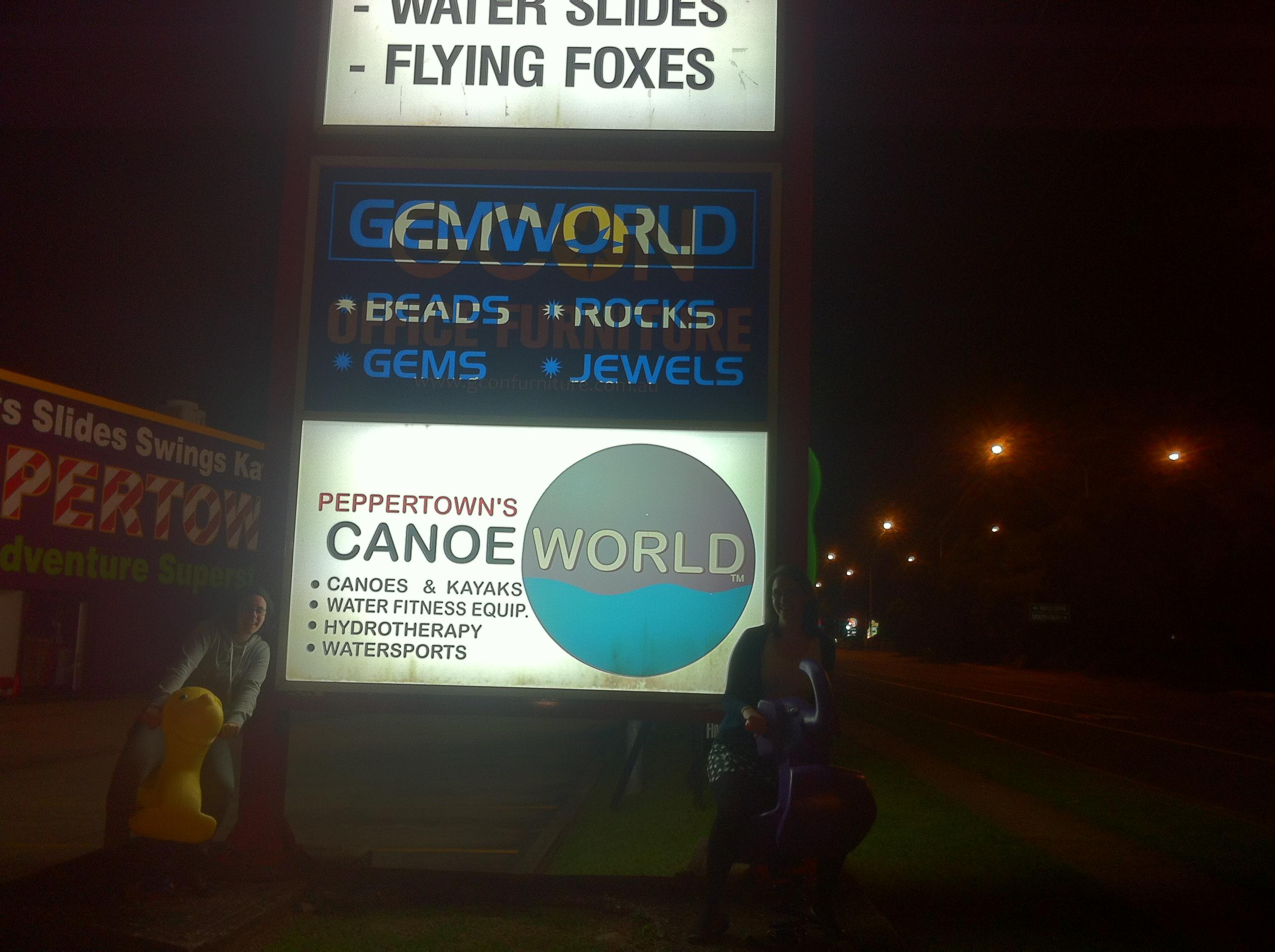 Canoe & Gem world